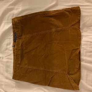 Brown brandy Melville skirt